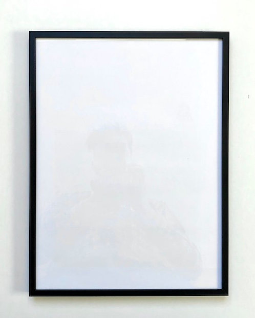 Black matt aluminium frame