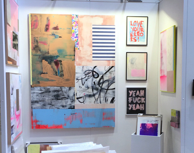 MICHELE LYSEK AIAF Amsterdam 2019 booth.