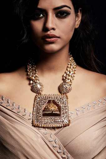 A dazzling diamond polki necklace with exemplary workmanship.