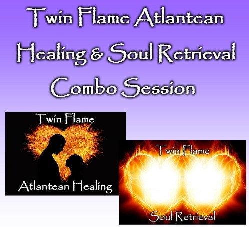 Twin Flame Atlantean Healing & Soul Retrieval Combo Session