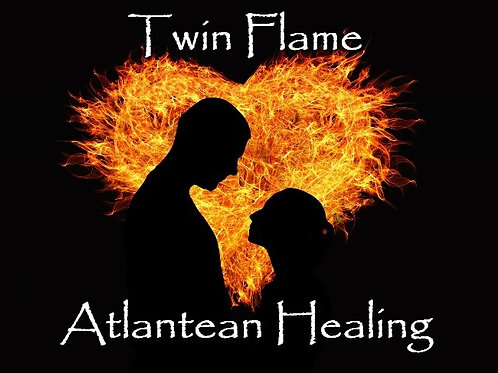 Twin Flame Atlantean Healing - Distance Session