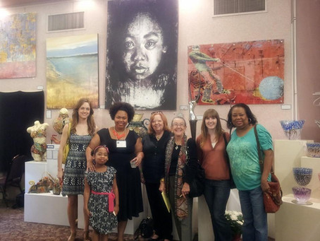 """Fingerprints - Miah"" Purchased at Beth-El International Art Festival"