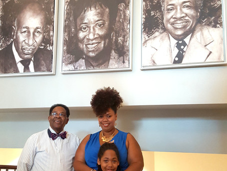 Saunders Library Installs Champions of Change by Princess Smith