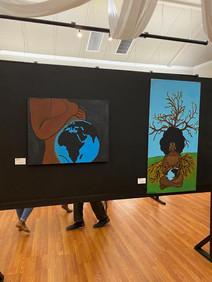 Artist Lakeema Matthew