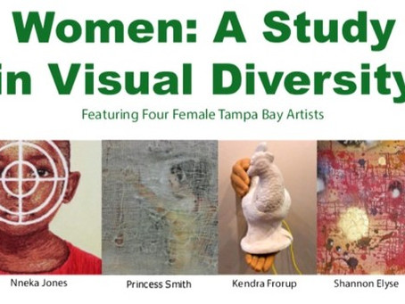 Tampa Museum of Art - Princess Smith featured in Women: A Study in Visual Diversity