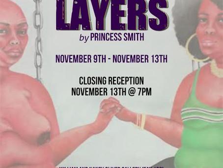 P. Smith Art - LAYERS Exhibit