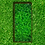 Thumbnail: Grabeinfassung, schmale Wangen, Cortenstahl
