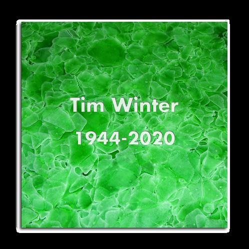 Kolumbarienplatte  Grün quadratisch