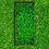 Thumbnail: Grabeinfassung, schmale Wangen, Messing