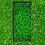 Thumbnail: Grabeinfassung mit strukturieren schmale Wangen, Edelstahl