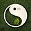 Thumbnail: Grabkissen Ying und Yang in Farbe