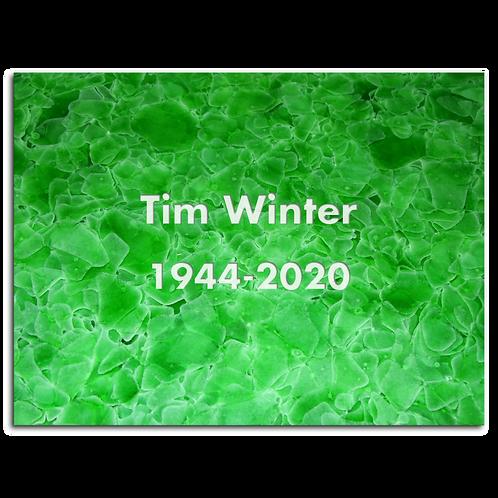 Kolumbarienplatte Grün liegend