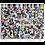 Thumbnail: Kolumbarienplatte upcycled Pixel liegend