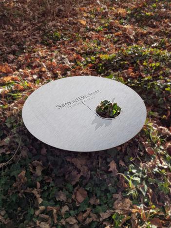Grabkissen Disk