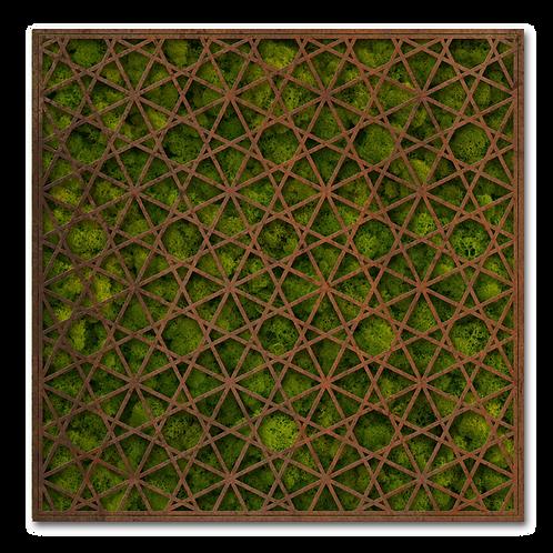 Urnengrabmal und Grababdeckung Stern, Cortenstahl