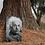 Thumbnail: Grabmal Portrait, Edelstahl