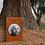 Thumbnail: Grabmal Portrait, Cortenstahl