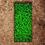 Thumbnail: Grabeinfassung mit strukturierten, schmalen Wangen, Cortenstahl