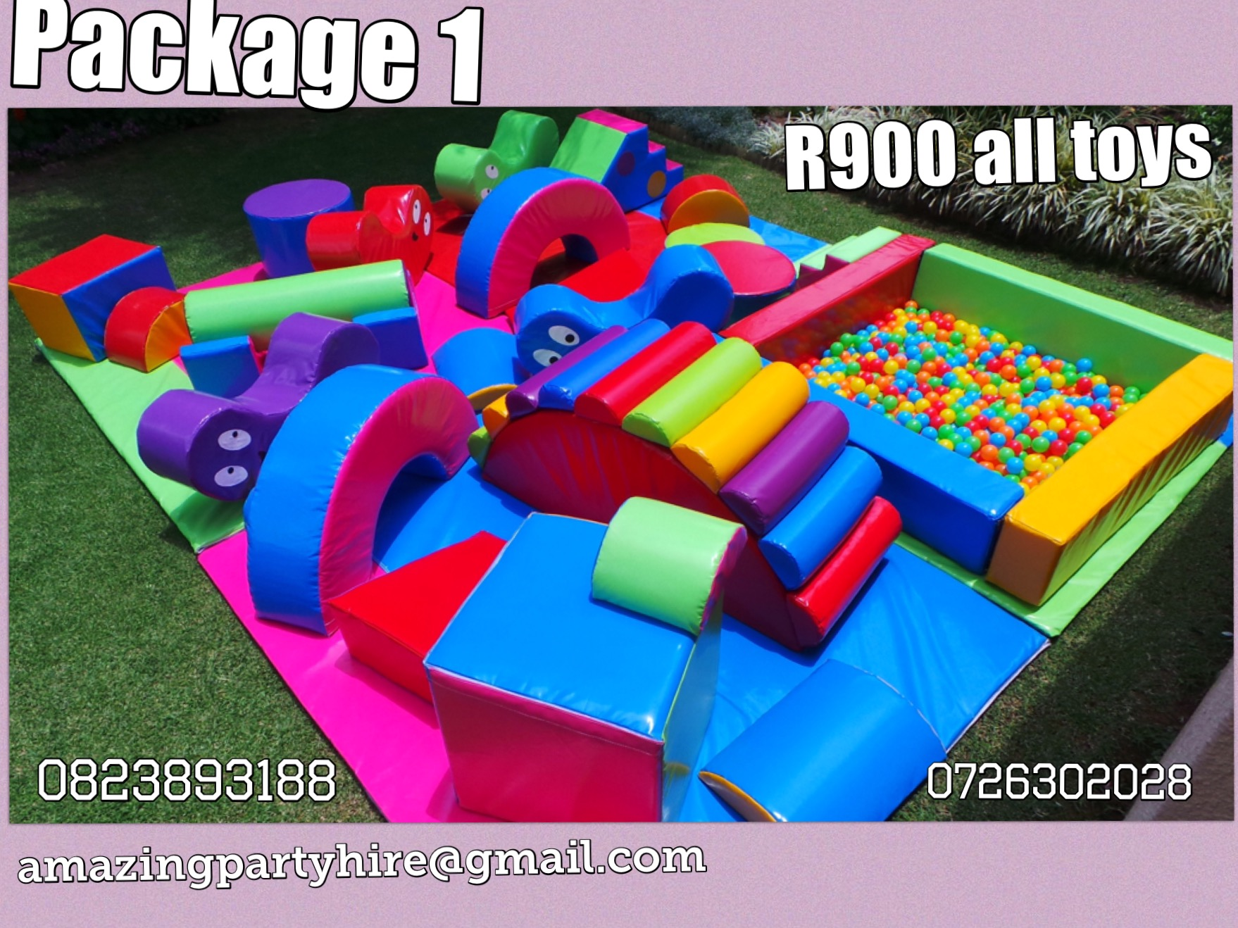 Package 1 R900 per day