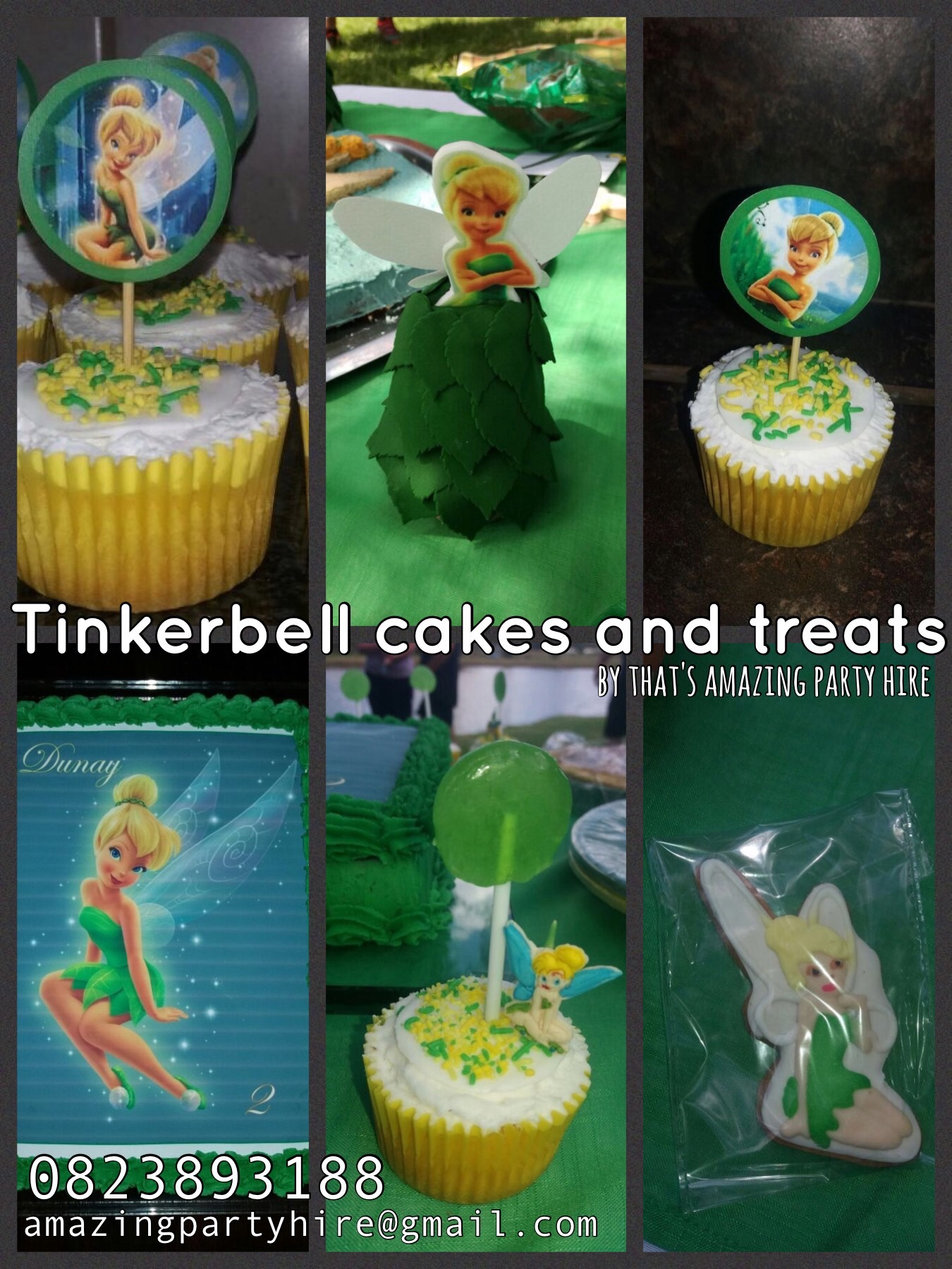Tinkerbell Cakes and Treats