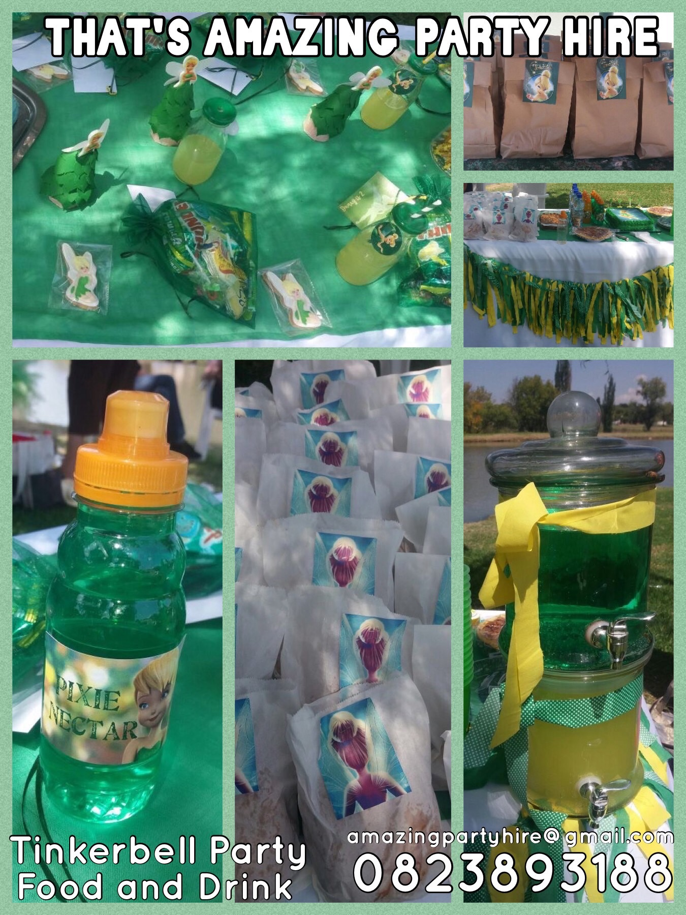 Tinkerbell Party Setup