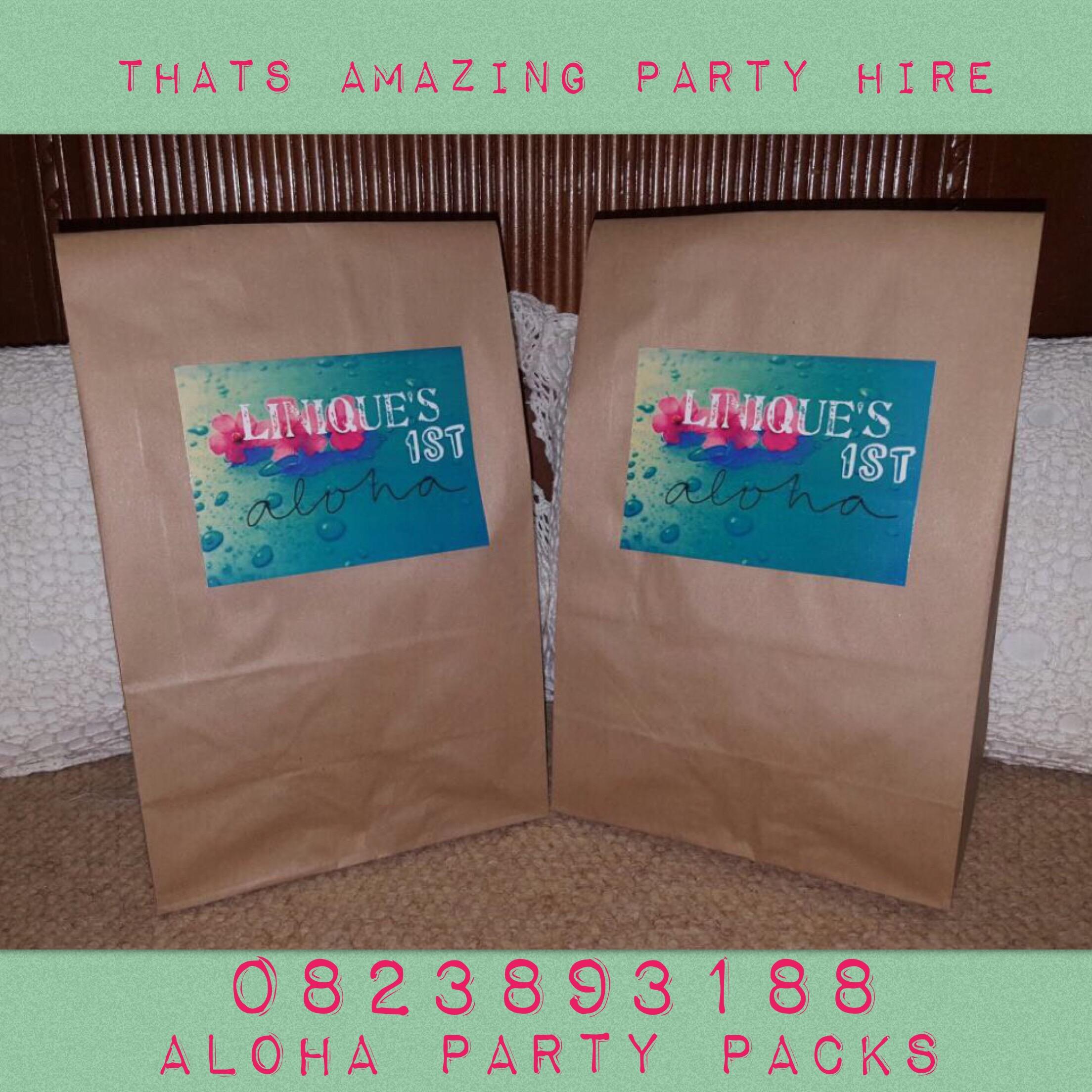 Aloha Party Packs