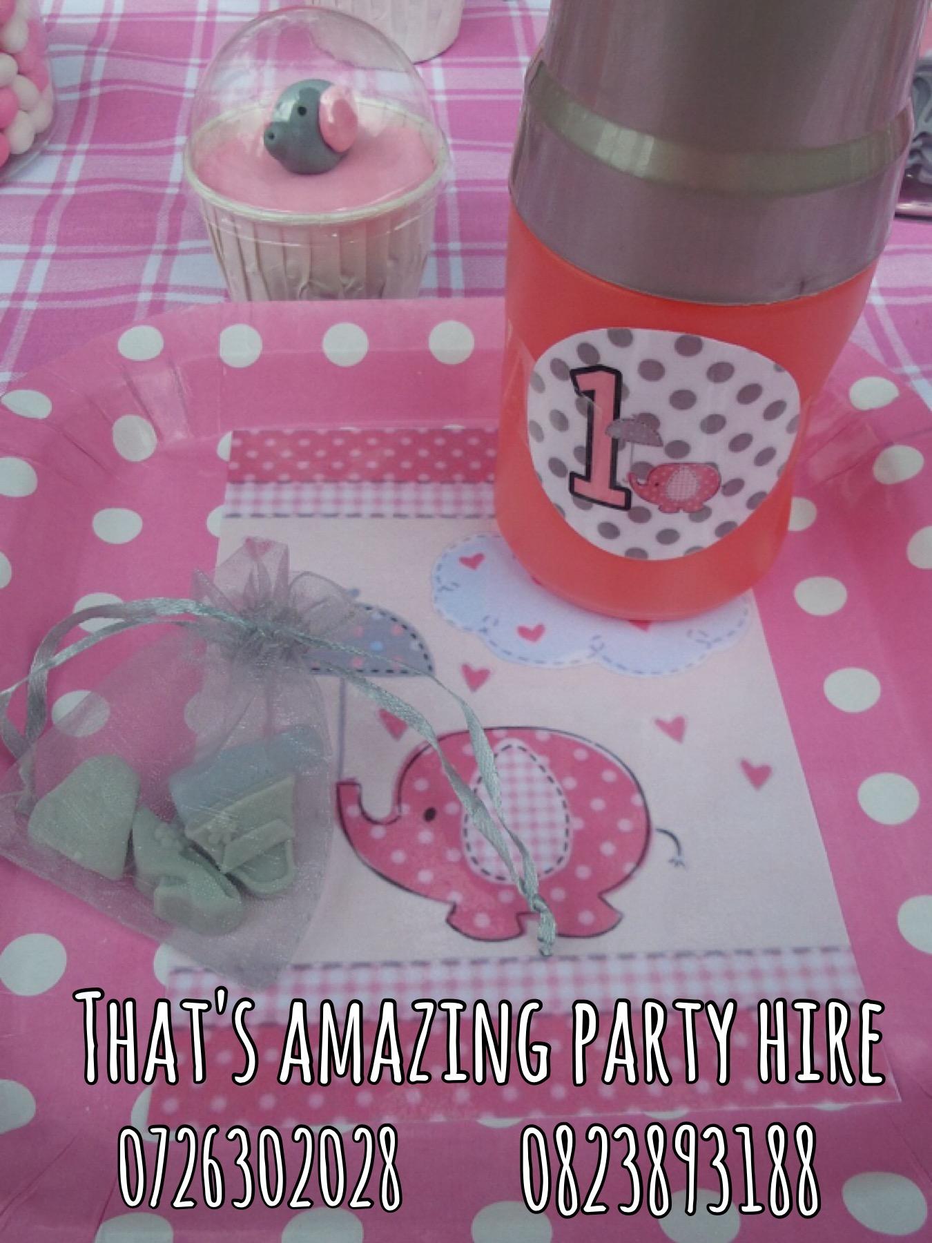 Elephant Party setup