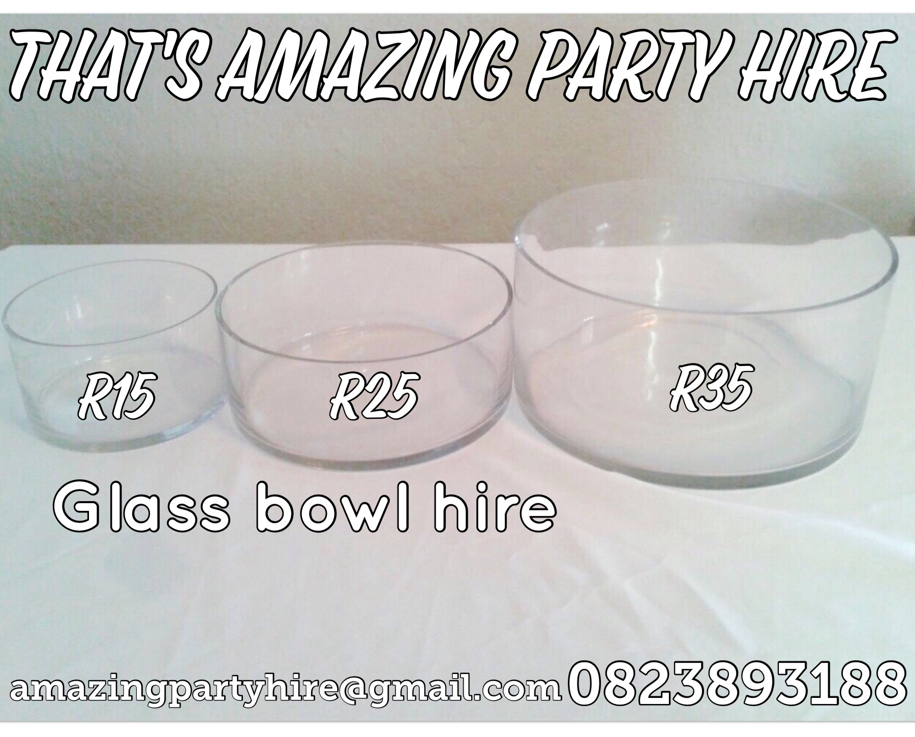 Bowls for Hire