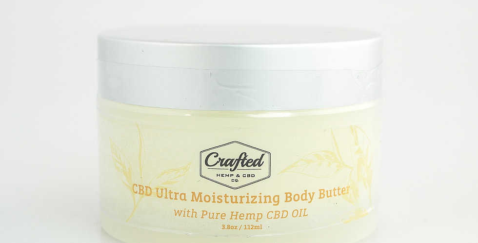 Crafted - CBD Body Butter
