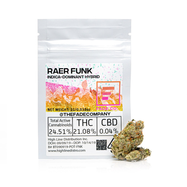 Wed. Nov 13 - Raer Funk SLIDE with other strains