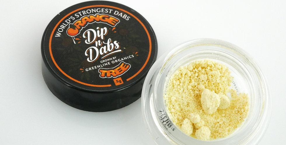 Dip n' Dabs - Orange Tree THCa Crystal, 0.5g