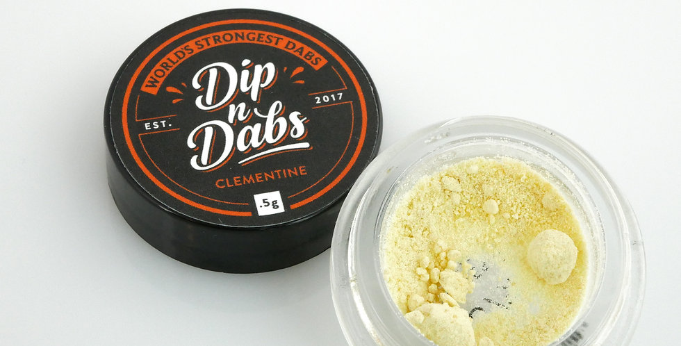 Dip n' Dabs - Clementine THCa Crystal, 0.5g