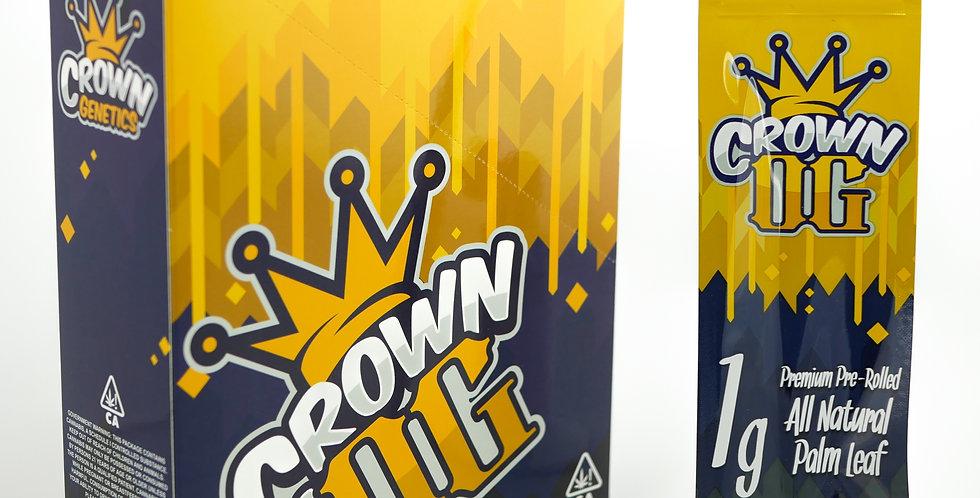 Crown OG - Pre-Rolled 1 Gram Palm Leaf Blunt, 20 Pack