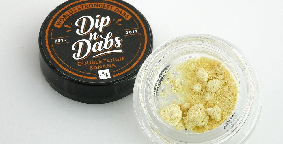 Dip n' Dabs - Double Tangie Banana THCa Crystal, 0.5g