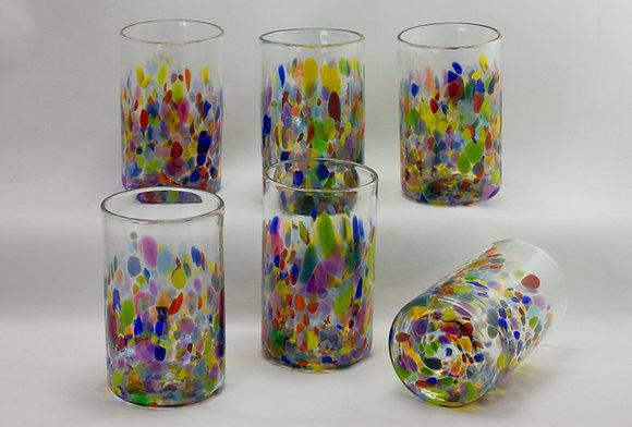 Rainbow Confetti Tumblers