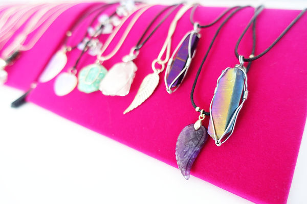 crystal pendents