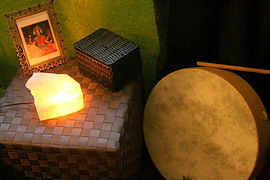 Drums and Crystals to help raise your vibration
