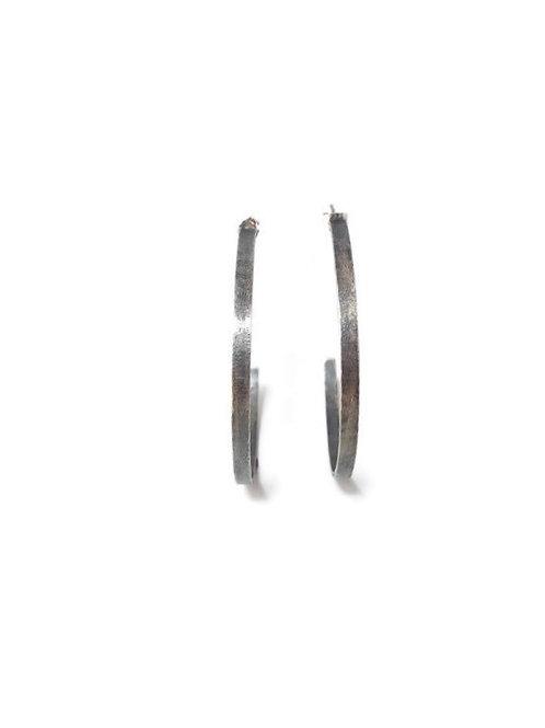 Sterling Silver Wire Hoop Earrings