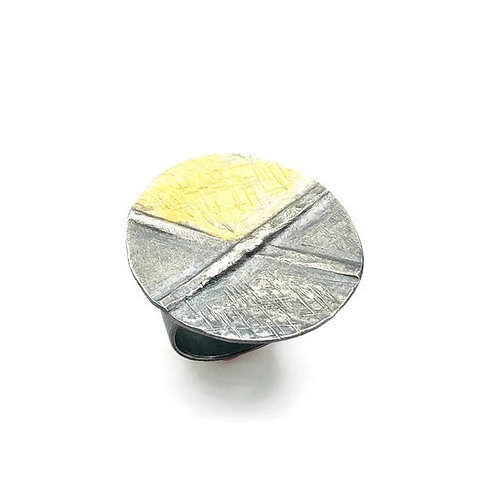 Fold Formed Circle Ring
