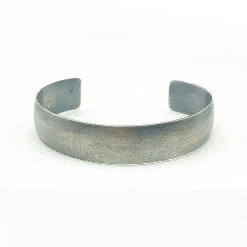 Medium Half Round Cuff Bracelet