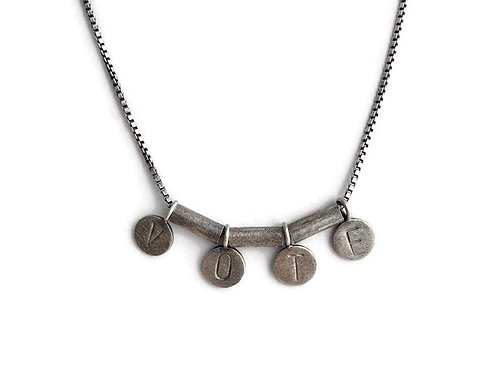 VOTE / LOVE Necklace