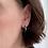 Thumbnail: Petite Diamond Hoop Earrings