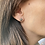 Thumbnail: Organic Diamond Stud Earrings