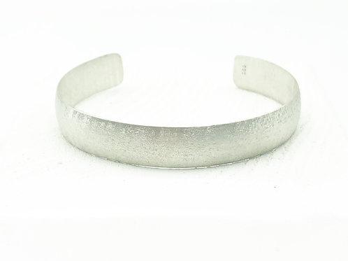 Small Half Round Cuff Bracelet