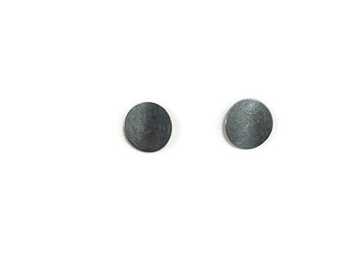 Large Circle Stud Earrings