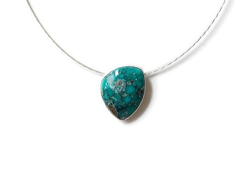 White Water Turquoise Necklace