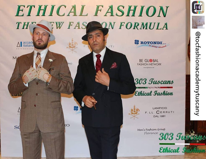 "The StreetBarons Ambassador of ""303 Tuscans Ethical Fashion"""