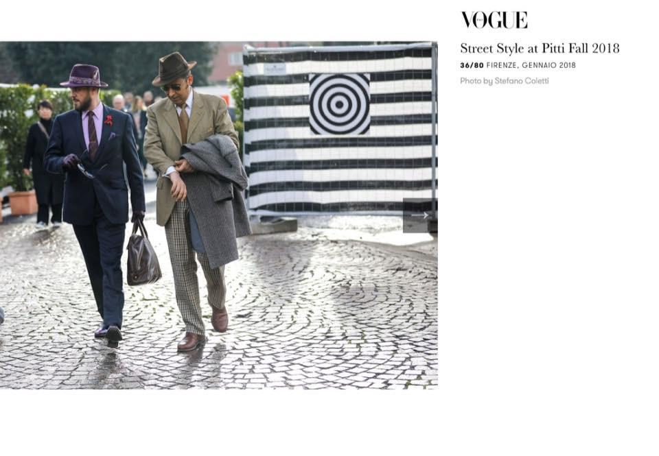Les Barons dans Vogue Italia