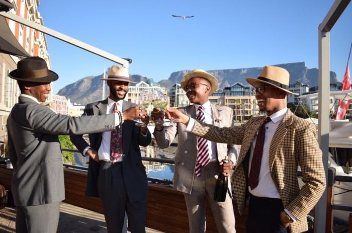 The launch of an Afrodandy social club