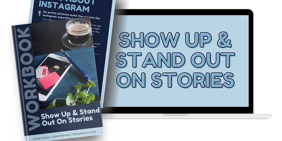 Show Up & Stand Out Masterclass